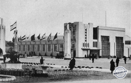 Hall du Transport à l'exposition de Anvers 1930