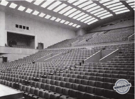 Grand Auditorium à l'exposition de Bruxelles 1958