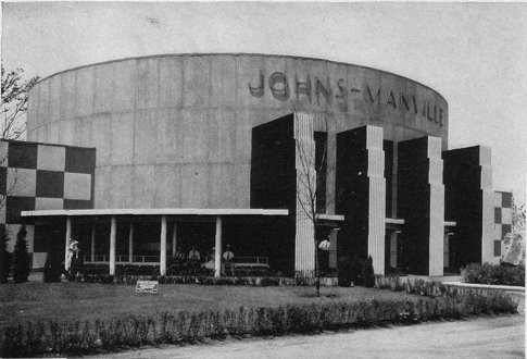 Pavillon Johns-Manville à l'exposition de Chicago 1933