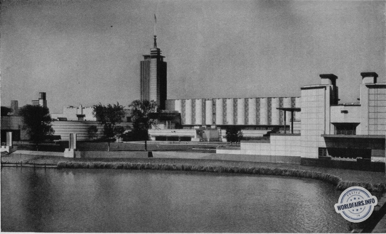 Palais des Sciences à l'exposition de Chicago 1933