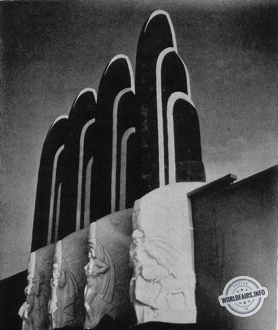 Palais des Sciences Sociales à l'exposition de Chicago 1933