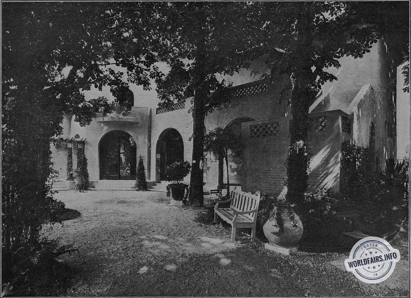 Mobilier De Jardin Alpes Maritimes le pavillon des alpes-maritimes - paris 1925 - architecture