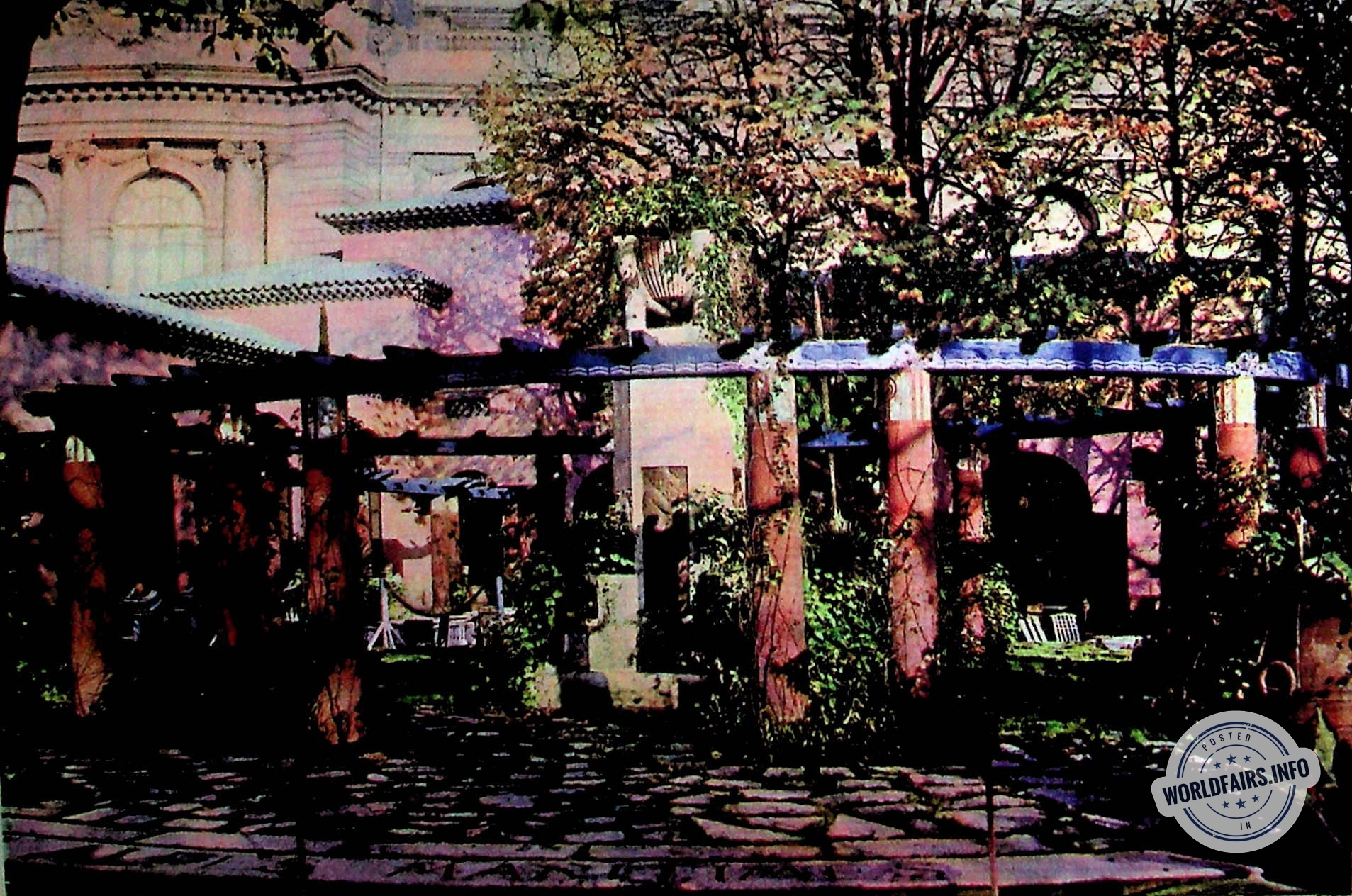 Mobilier De Jardin Alpes Maritimes jardin du pavillon des alpes-maritimes - paris 1925