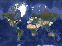 Image logo carte des vestiges