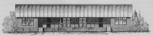 Expo Paris 1889 - Maison en carton pour pays chaud