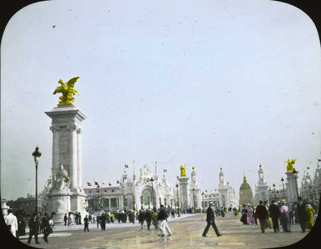 Expo Paris 1900 -Esplanade des Invalides