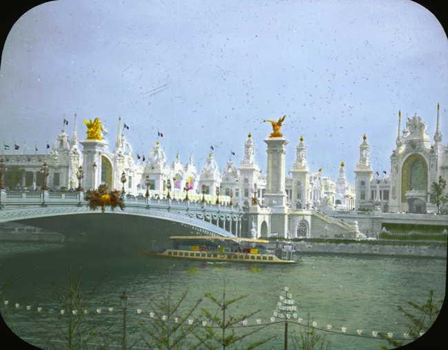 Expo Paris 1900 - Pont Alexandre III