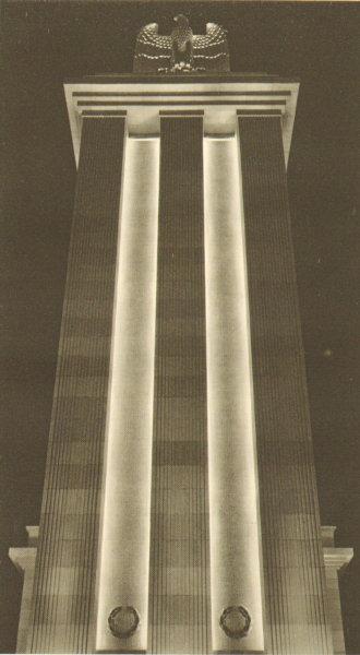 Expo Paris 1937 - Architecture - Pavillon de l Allemagne