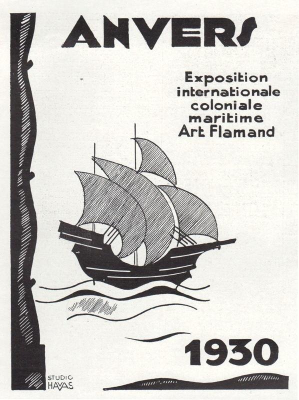 Expo Antwerpen 1930 - Affiche