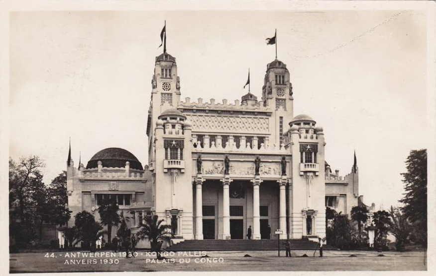 Expo Antwerpen 1930 - Carte postale - Palais du Congo - Kongo Paleis