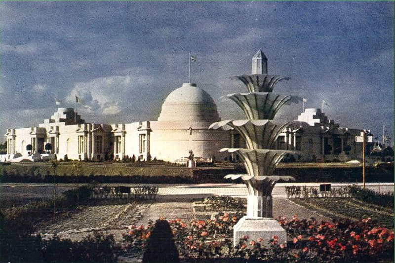Expo Antwerpen 1930 - Carte postale - Pavillon Britanique - Britsch Paviljoen