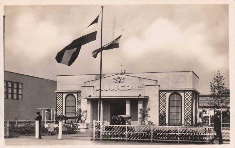 Expo Antwerpen 1930 - Carte postale - Pavillon de la Hongrie - Paviljoen van Hongarije