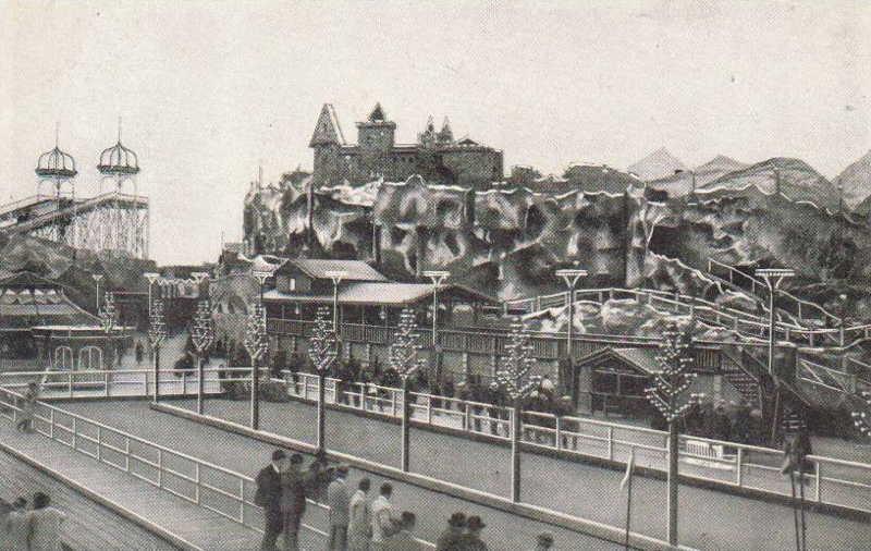 Expo Antwerpen 1930 - Carte postale - Luna Park