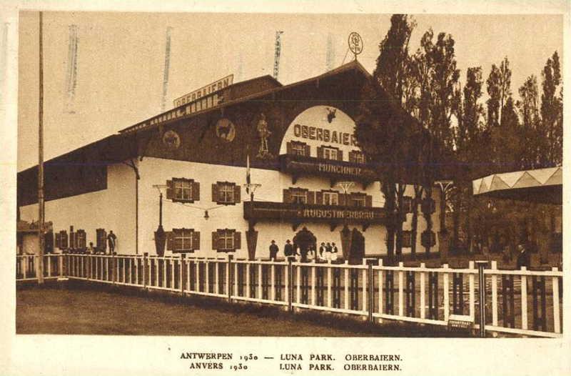 Expo Antwerpen 1930 - Carte postale - Oberbaiern