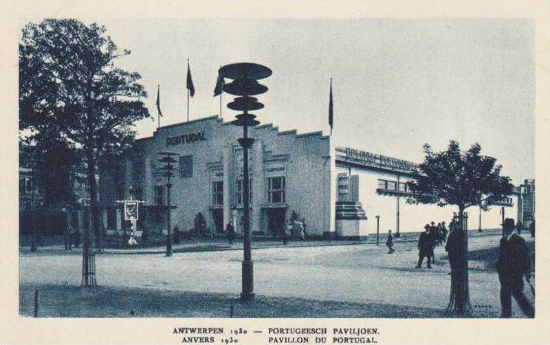 Expo Antwerpen 1930 - Carte postale - Pavillon du Portugal - Portugeesch Paviljoen