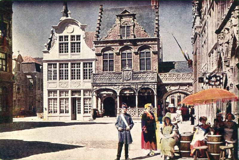 Expo Antwerpen 1930 - Carte postale - Vieille Belgique - Oud België