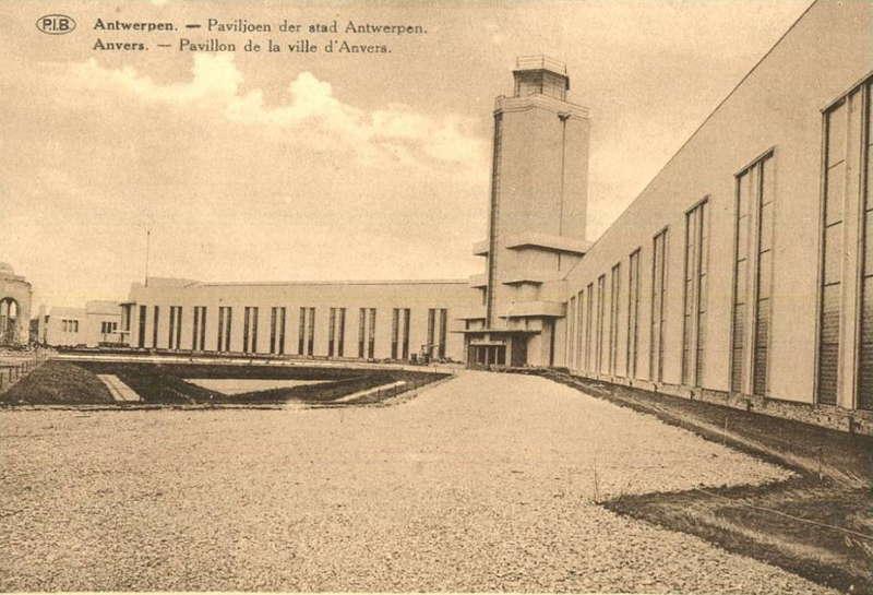 Expo Antwerpen 1930 - Carte postale - Pavillon de la Ville d Anvers - Paviljoen der Stad Antwerpen