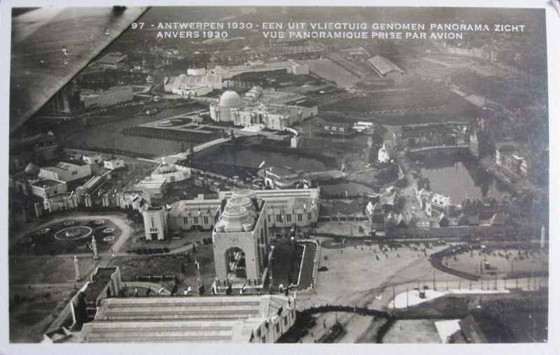 Expo Antwerpen 1930 - Carte postale - Vue panoramique Panorama