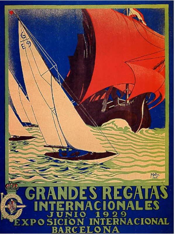 Grandes Regatas Internationales - Junio 1929