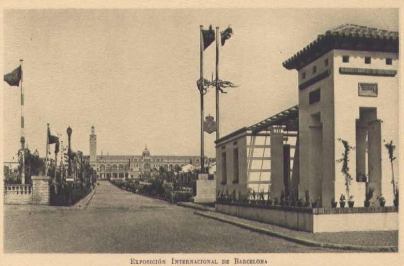Expo Barcelona 1929 -  Avenida Internacional