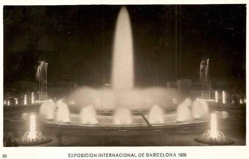 Expo Barcelona 1929 - Fuente Monumental