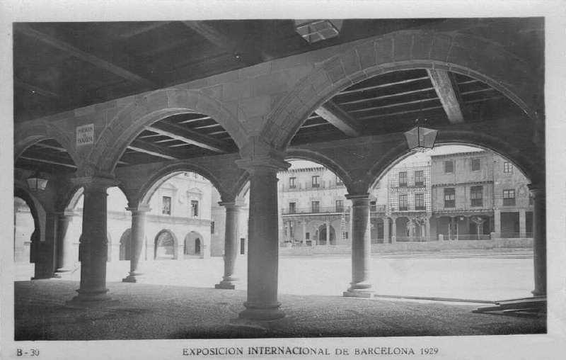Expo Barcelona 1929 - El Pueblo Espanol - Las Arcadas