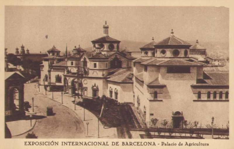 Expo Barcelona 1929 - Palacio de la Agricultura