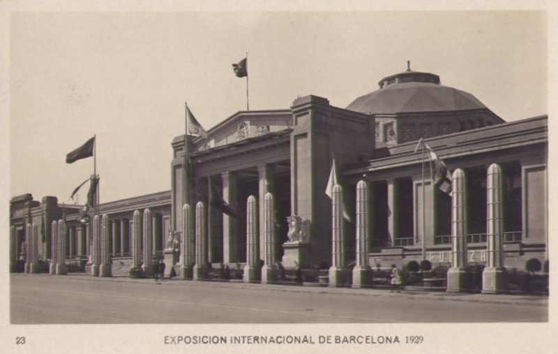 Expo Barcelona 1929 - Palacio de la Metalurgia