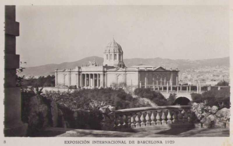 Expo Barcelona 1929 - Palacio de la Quimica