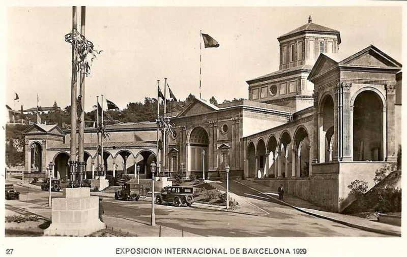 Expo Barcelona 1929 - Palacio de las Artes Graficas