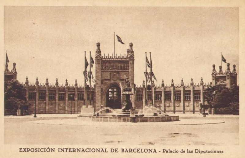 Expo Barcelona 1929 - Palacio de las Diputaciones