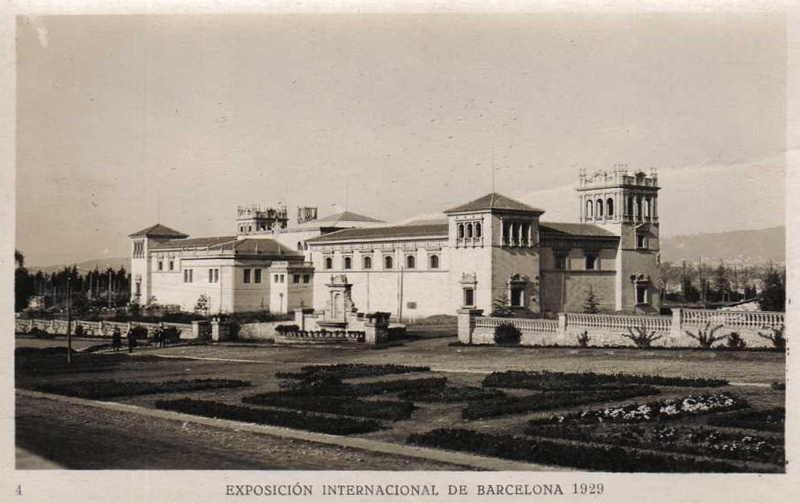 Expo Barcelona 1929 - Palacio del Estado
