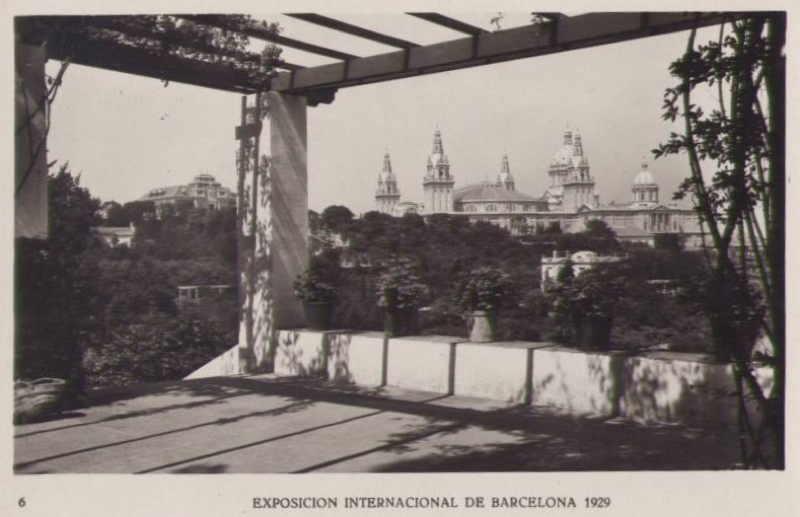 Expo Barcelona 1929 - Parque de la Exposicion