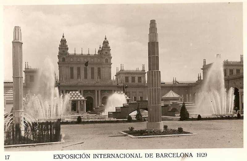 Expo Barcelona 1929 - Plaza del Universo