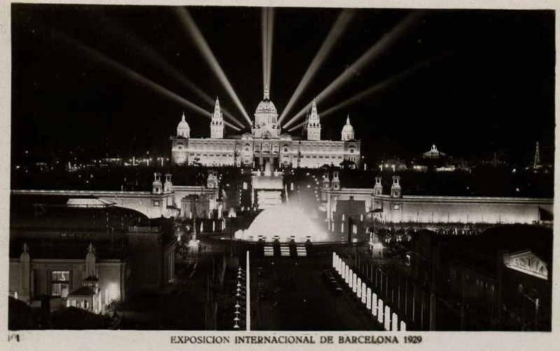 Expo Barcelona 1929 - Vista Panoramica