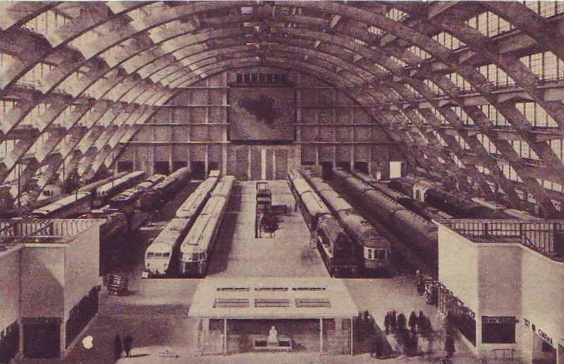 Expo Bruxelles 1935 - Carte postale - Les Grands Palais