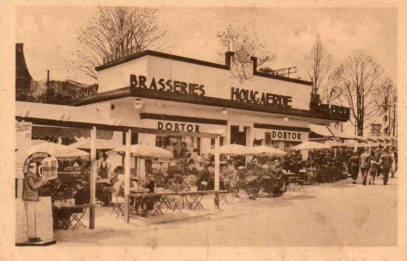 Expo Bruxelles 1935 - Carte postale - Pavillon de Hougaerde