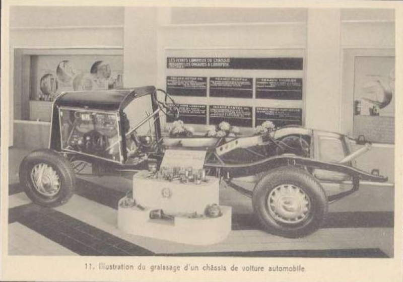 Expo Bruxelles 1935 - Carte postale - Texaco