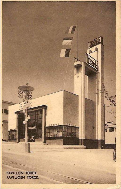 Expo Bruxelles 1935 - Carte postale - Pavillon Torck