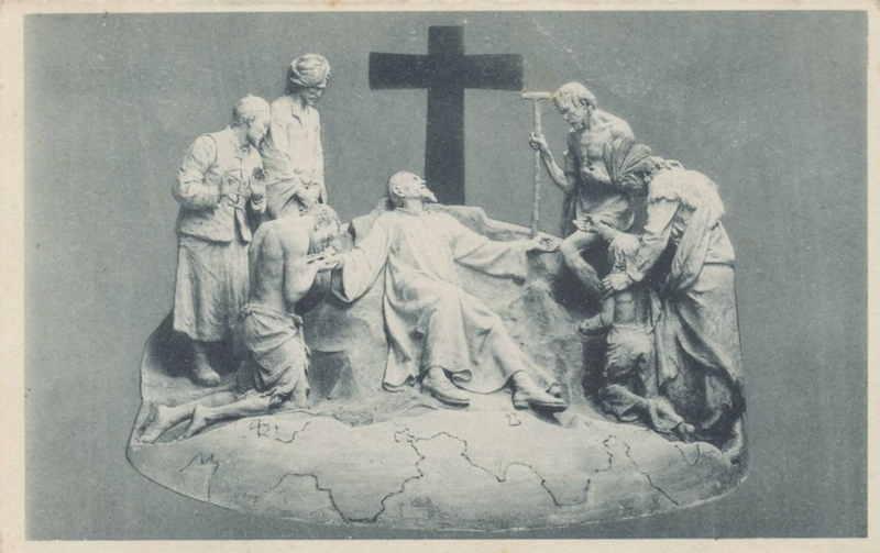 Expo Bruxelles 1935 - Carte postale - Pavillon de Vie Catholique Belge - Paviljoen Katholieke liven