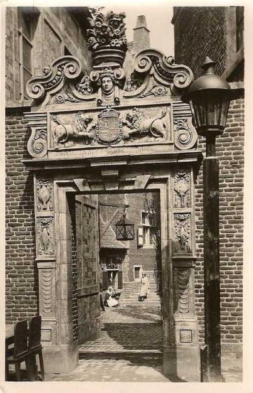 Expo Bruxelles 1935 - Carte postale - Vieux Bruxelles