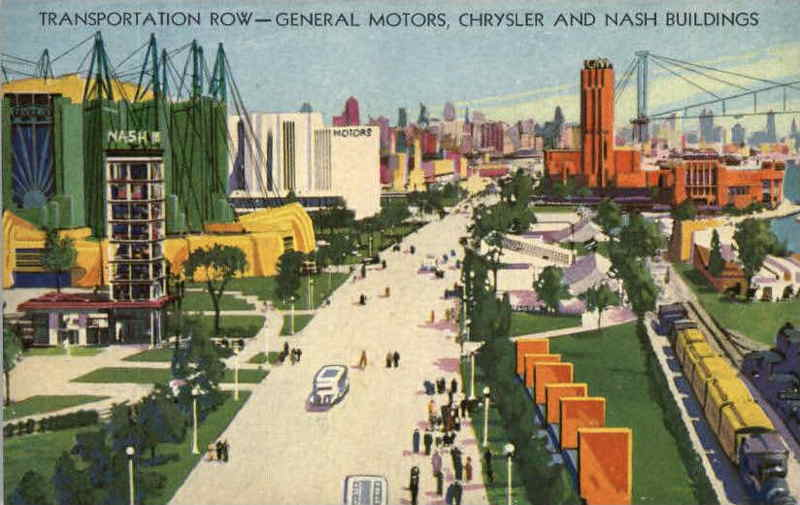 Expo Chicago 1933 - Postcard - General Views