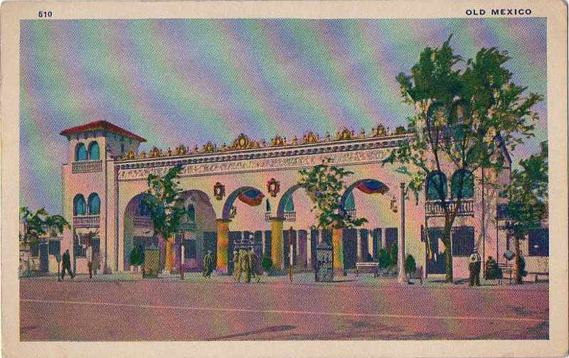Expo Chicago 1933 - Postcard - Old Mexico