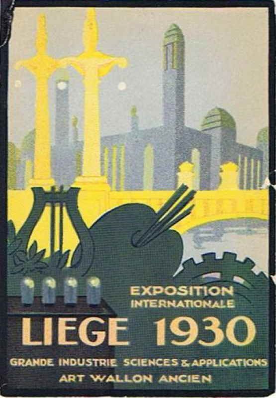 Expo Liège 1930 - Affiche