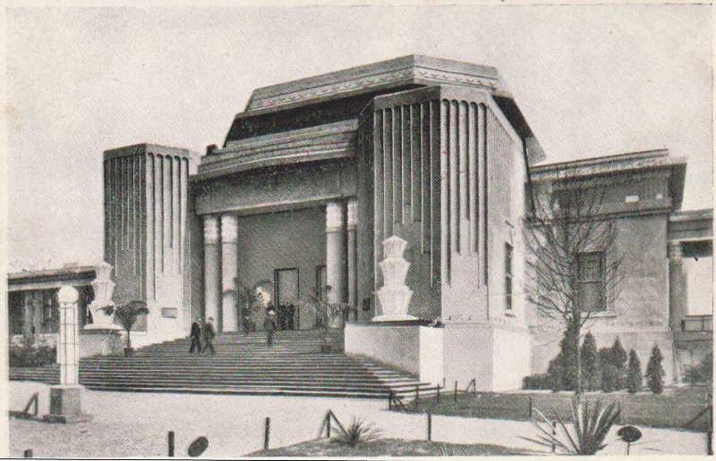 Expo Liège 1930 - Carte postale - Palais des Fêtes