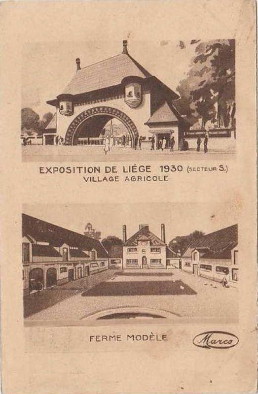 Expo Liège 1930 - Carte postale -Cartes Postales Généralistes