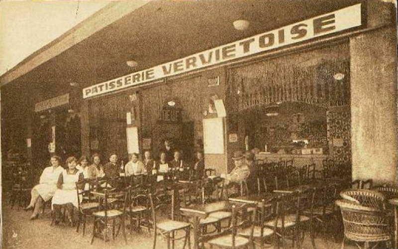 Expo Liège 1930 - Carte postale - Patisserie Vervietoise