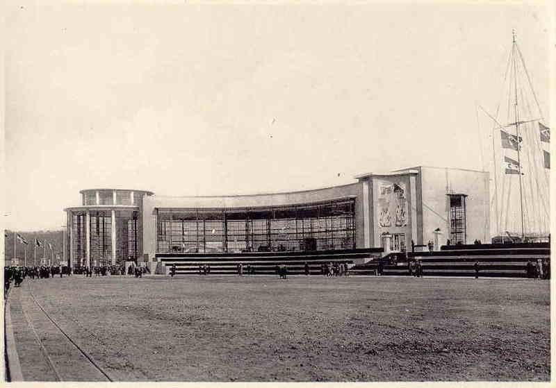Expo Liège 1939 - Carte postale - Palais de la France
