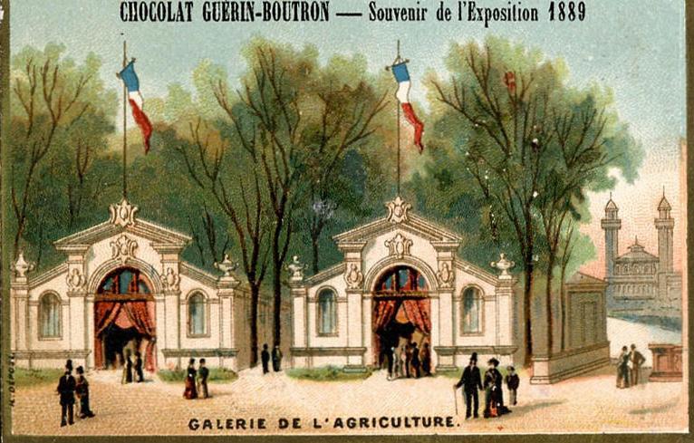 Expo Paris 1889 - Galerie de l Agriculture