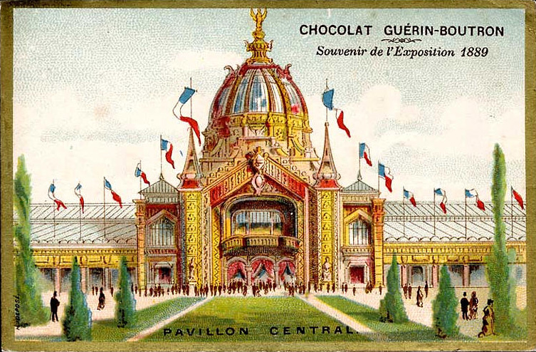Expo Paris 1889 - Pavillon Central